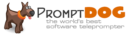 PromptPuppy teleprompter software